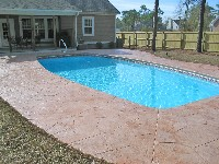Majestic Fiberglass Pool in Mango, FL