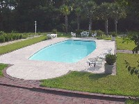Majestic Fiberglass Pool in Valrico, FL